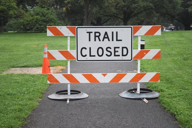 Some trails will closed for the work near Arlington National Cemetery