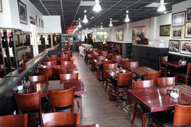 The Vietnamese restaurant seats 90 people indoors