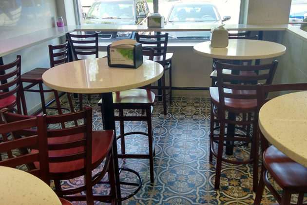 The Middle Eastern restaurant is located at 2329 S. Eads Street