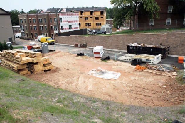 The Arlington Row development is adding dozens of townhomes to Westover