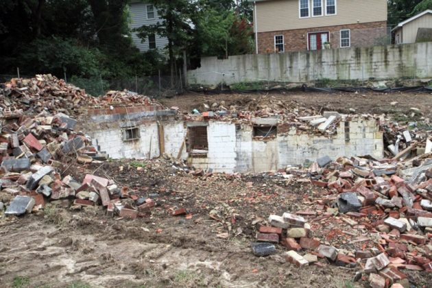 Audrey Clement criticized the demolition of garden apartments in Westover