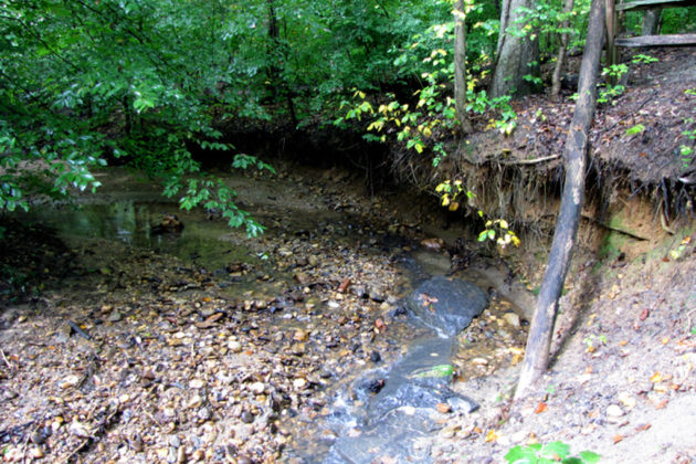 The county completed a similar project at Donaldson Run in 2006 (photo via Arlington County)