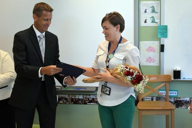 Michelle Cottrell-Williams is one of eight finalists for state Teacher of the Year
