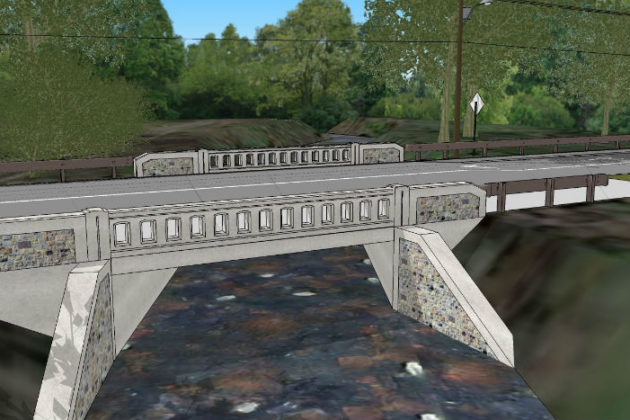 Design image for new Van Buren Bridge