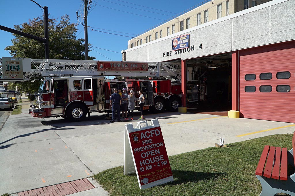 Acfd to mark fire prevention week with station open houses for Fire safety house