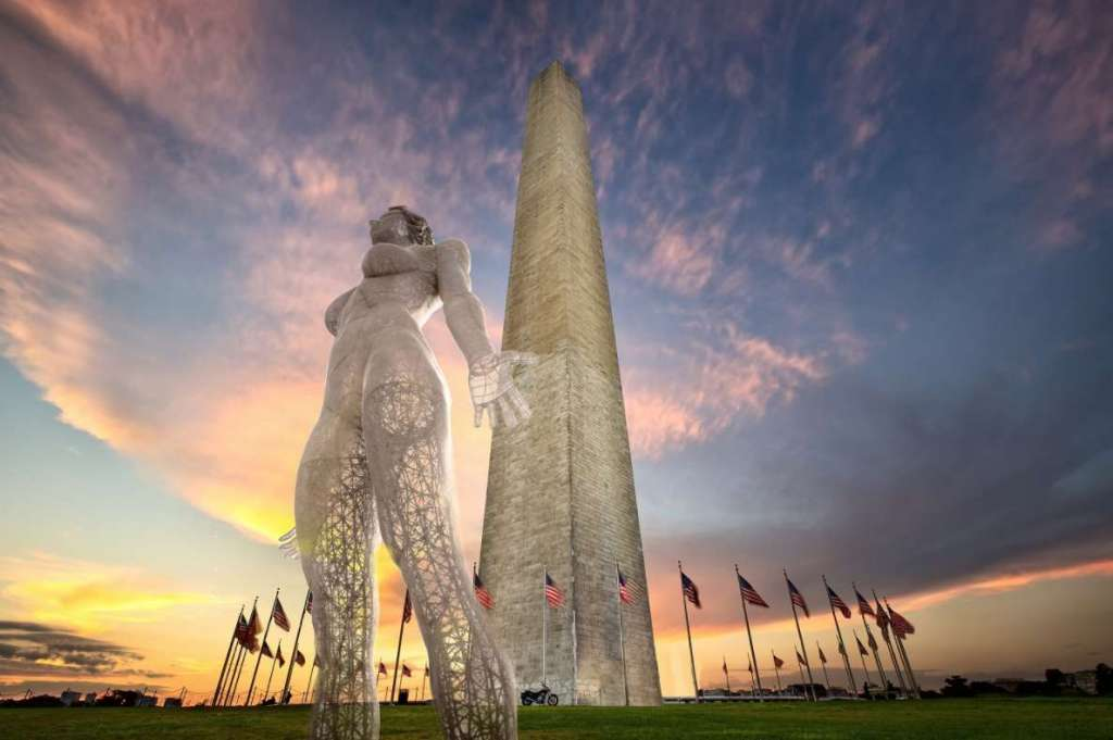 A Nude Woman Statue Is at the Center of National Mall Controversy