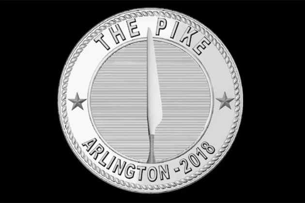 Artist Donald Lipski said he will exchange them for a commemorative coin (image via Arlington County)