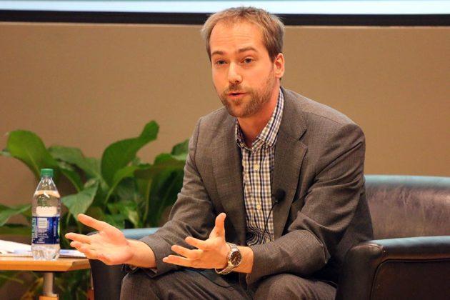 Brad Komar, campaign manager for Gov.-Elect Ralph Northam