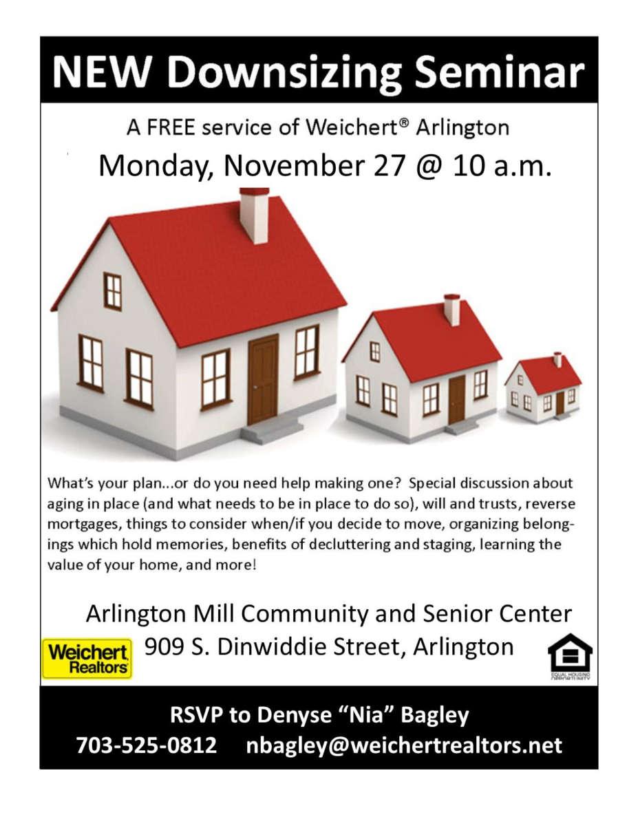 Arlington va local news free downsizing for Benefits of downsizing