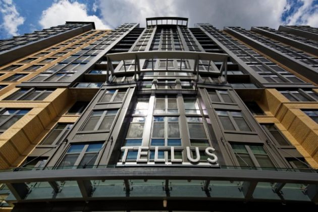 TELLUS: A Sophisticated Apartment high-rise in Arlington 2 Blocks to Courthouse Metro