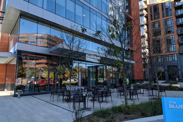 New Starbucks in Ballston (photos courtesy Richie F.)