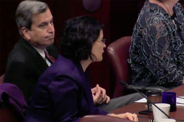 Del. Rip Sullivan and state Sen. Barbara Favola