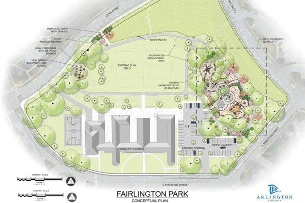 Fairlington Park concept plan