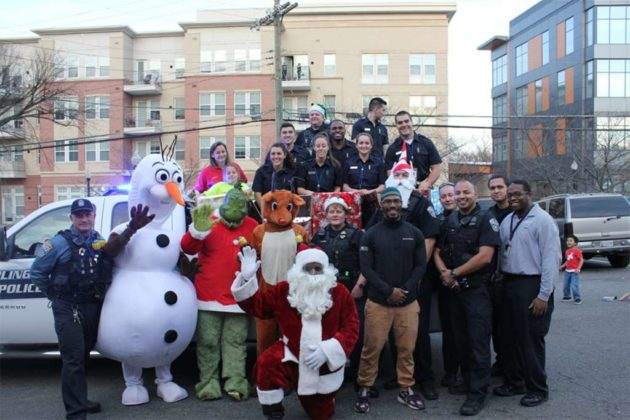 Operation Santa characters (photo courtesy ACPD)