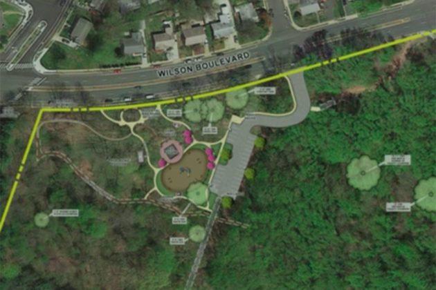 Park's lower area, set for renovations (via NOVA Parks presentation)