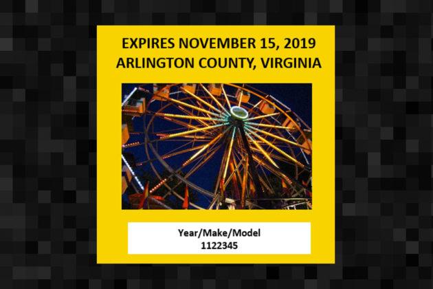 (3) A ferris wheel from the county fair