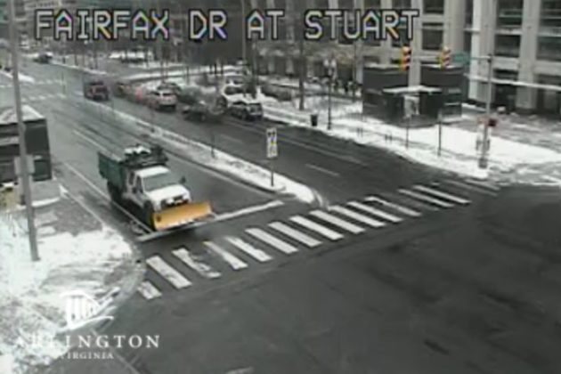 Traffic camera at 8:30 a.m. on January 4, 2018