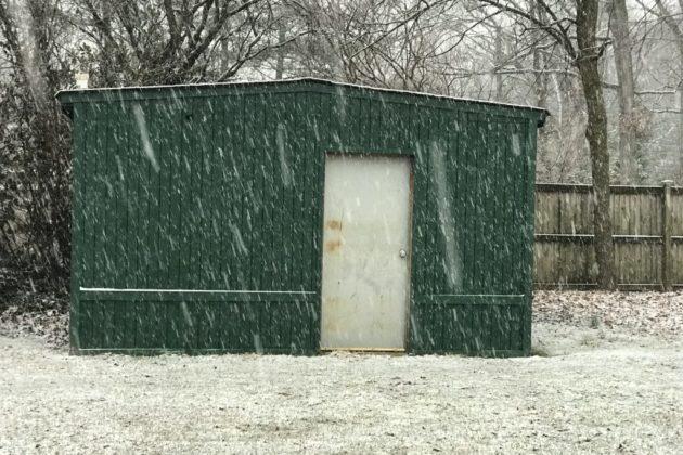Snow on Feb. 17, 2018