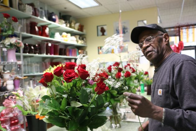 Florist Welcomes Valentine's Day Rush