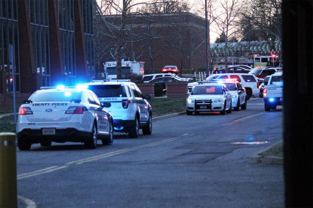Hazmat situation at Henderson Hall