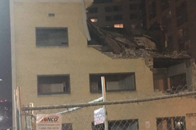 Demolition at 2000 Clarendon Blvd (photo courtesy @721tv)