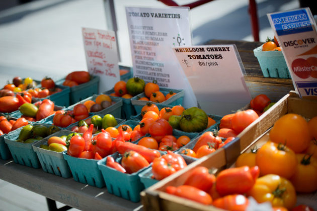 Tomatoes ready for the market (courtesy of Rosslyn BID)