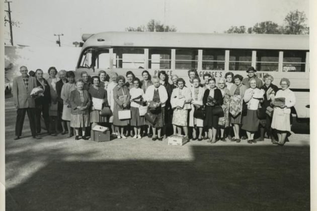 United Church Women of Arlington members (courtesy Center for Local History)