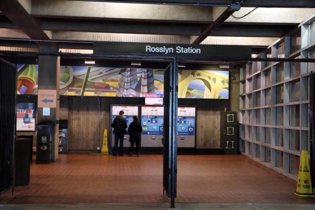The film State of Play was also shot at the Rosslyn Metro.