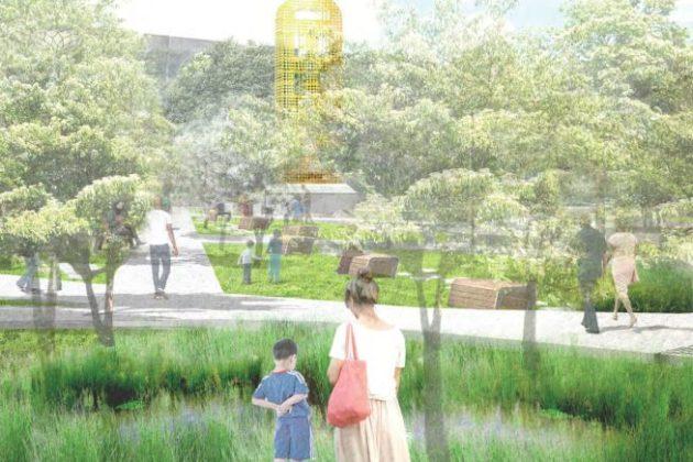 Nauck Town Center rendering (via Arlington County)