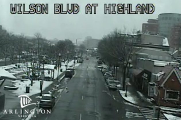 Traffic camera in Clarendon on 3/21/18