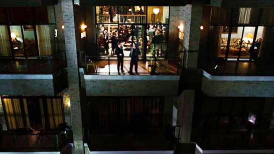 A scene in Charlie Wilson's War was set at Rosslyn's The Weslie Condominiums.