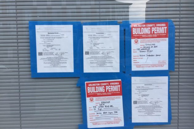 The Simple Greek building permits